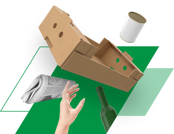 Pakuočių atliekų naudojimo ir (ar) perdirbimo užduotys