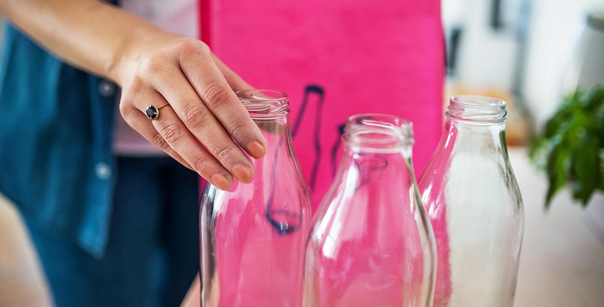 Rūšiuoju stiklo atliekas – rūpinuosi gamtos ateitimi!