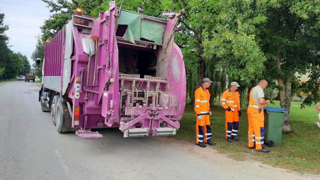 Penktadalis atliekų Raseiniuose dar nukeliauja į klaidingą rūšiavimo konteinerį