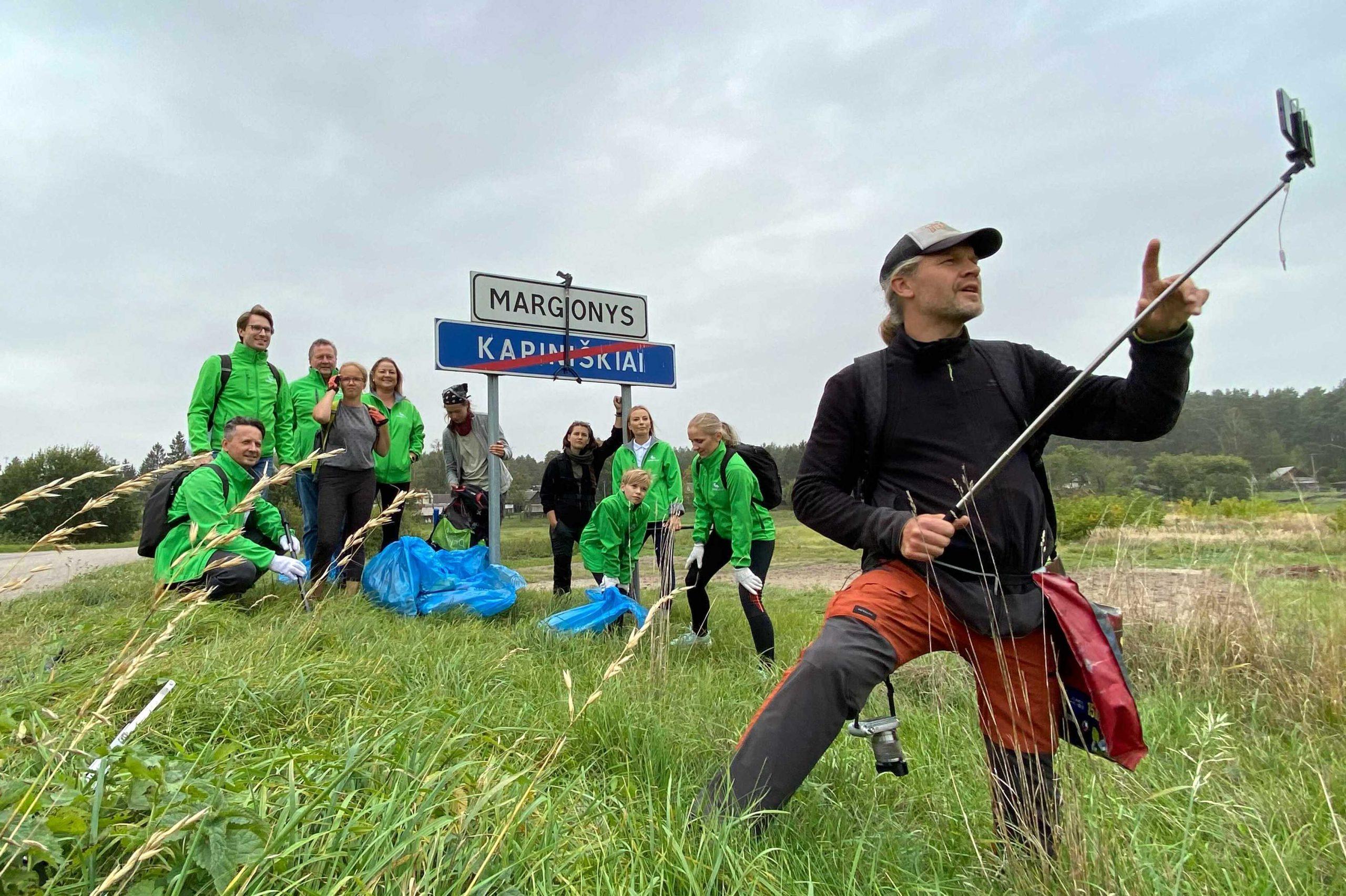 """Žygis """"Už švarią Lietuvą!"""": palaikyti – sudalyvauti pačiam ir savo pavyzdžiu kviesti kitus elgtis atsakingai"""